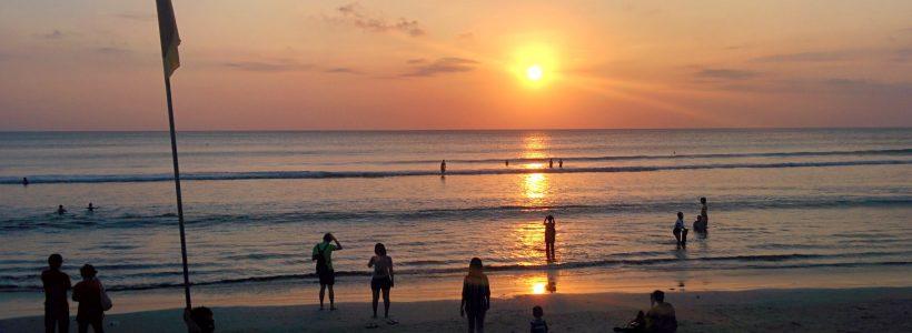 Bali - Kuta beach - tramonti