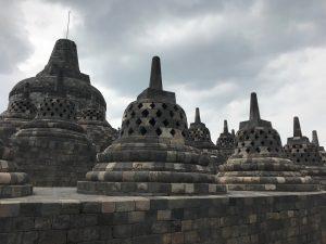 Indonesia - Jodgja - Yogyakarta- Borobudur - tempio buddista