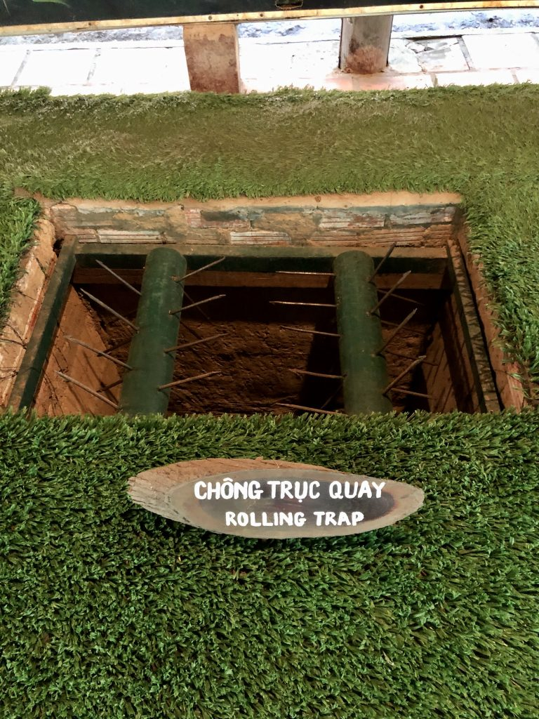 Vietnam - Ho Chi Minh City - Saigon -Tunnel di Cu Chi
