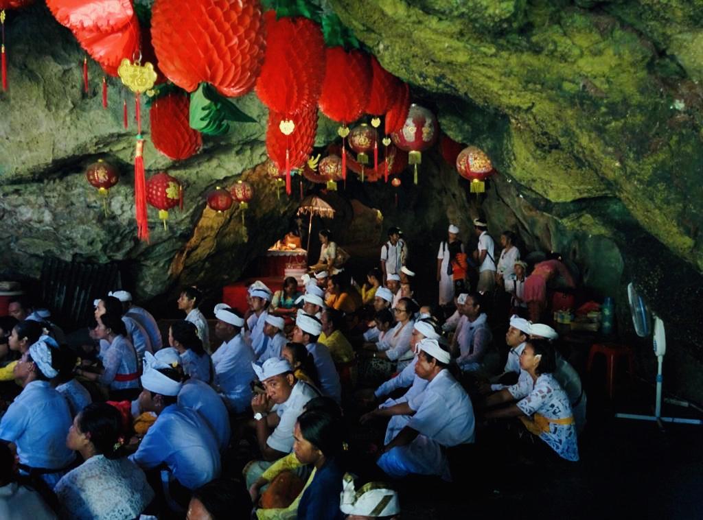 Nusa Penida -goa giri putri - grotta
