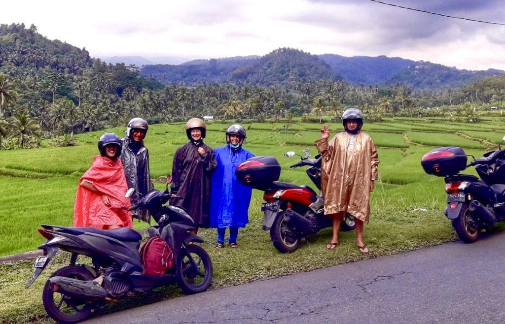 bali - giro in moto